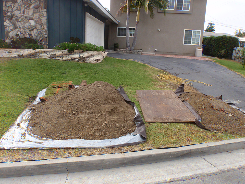 newport beach drain repair